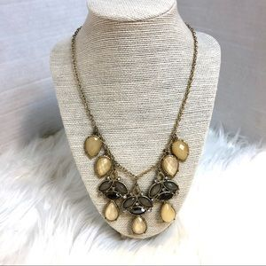 Gold , Black , and Gray  statement piece.